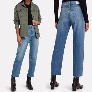 NWT Re/Done High Rise Stovepipe Jeans
